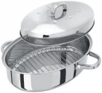 Judge High Oval Roaster with Thermal Base 35 x 25cm
