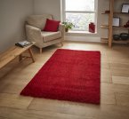 Think Rugs Loft 01810A Red