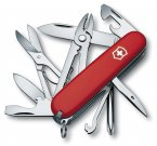 Victorinox Deluxe Tinker Swiss Army Knife Multi Tool Red