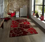 Think Rugs Hong Kong 33L Brown/Red