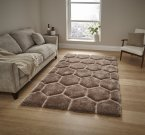 Think Rugs Noble House NH30782 Beige - Various Sizes