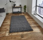 Think Rugs Vista 2236 Dark Grey - Various Sizes
