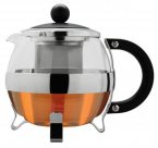Grunwerg 0.7 Litre Glass and Stainless Steel Teapot