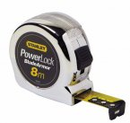 Stanley Powerlock 8m/26ft Tape Measure