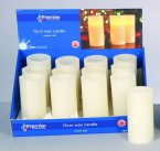 Premier Decorations Flickering Candle Amber LED 15 x 7.5cm