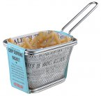 Apollo Stainless Steel Chip Serving Basket