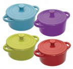 Colourworks Mini Round Casserole Dish 14.5cm - Assorted Colours
