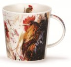 Dunoon Cairngorm Shape Fine Bone China Mug - Animals on Canvas - Chicken