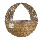 "Smart Garden 16"" Country Rattan Wall Basket"