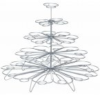Sweetly Does It Wire Cupcake Tree Stand for 36 Cakes, 40cm
