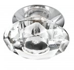 Searchlight Diamond 1 Light Chrome Downlighter