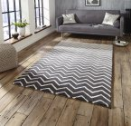 Think Rugs Spectrum SP22 Grey/White