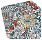 Lesser & Pavey Golden Lily Coasters Set of 4