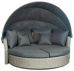Pacific Lifestyle Stone Grey Cayman Day Bed