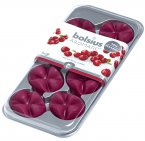 Bolsius Aromatic Wax Melts (Pack of 8) - Wild Cranberry