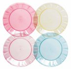 Navigate Sweet Summer Days Plain Coloured Plates, Set of 4