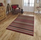 Think Rugs Diamond 220A Red
