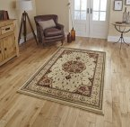 Think Rugs Heritage 4400 Cream/Red