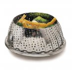 Stainless Steel 28cm Collapsible Steaming Basket