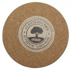 Apollo Cork Placemat Set of 6 Round 22cm