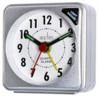 Acctim Ingot Travel Alarm Clock Silver
