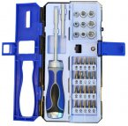 Faithfull 33 Piece Ratchet Screwdriver Set