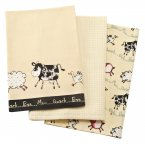 Price & Kensington Home Farm Tea Towels Set of 3