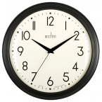 Acctim Amelia Wall Clock Black