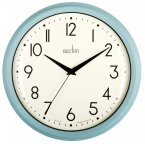 Acctim Amelia Wall Clock Duck Egg Blue