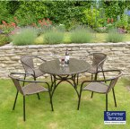 Summer Terrace FLEURETTA 90 PATIO Set - San Remo