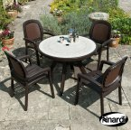 Nardi Coffee Toscana 100 Ravenna with 4 Beta Chair Set