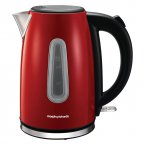 Morphy Richards Equip Jug Kettle 1.7L Red Stainless Steel