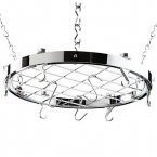 Hahn Premium Round Ceiling Rack in Chrome