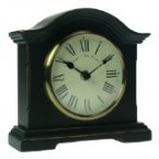 Towcester Clock Works Co. Falkenburg Series Mantel Clock Black