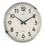 Acctim Orion Wall Clock Silver/White