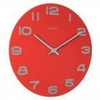 Acctim Mika Wall Clock Red