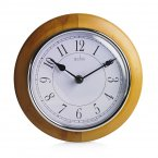 Acctim Newton Wall Clock Light Wood