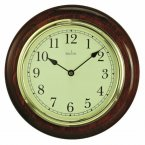 Acctim Newton Wall Clock Dark Wood