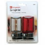 Kingavon 2pc Cycle Light Set