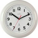 Acctim Parona Radio Controlled Wall Clock White