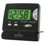 Acctim Mini LCD Flip Alarm in Black