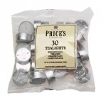 Price's White Tea Lights 30 Bag