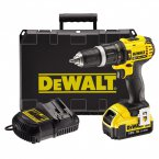 DeWALT 18V Lithium-Ion 2 Speed Compact Drill with Case