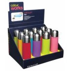 Colourworks Brights Stainless Steel Vacuum Flask 500ml - Assorted Colours