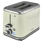 Brabantia 2 Slice Toaster in Brushed Stainless Steel Almond
