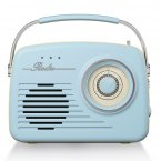 Akai AM/FM Retro Radio - Blue
