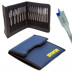 Irwin 17 Piece Flat Bit Set