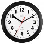 Acctim Parona Radio Controlled Wall Clock Black 23cm