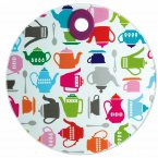 Kitchen Craft Worktop Protector Round Teapot 24cm