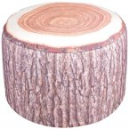 Fallen Fruits Inflatable Outdoor Pouffe - Tree Stump